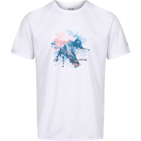 Regatta Fingal V Camiseta Hombre, white